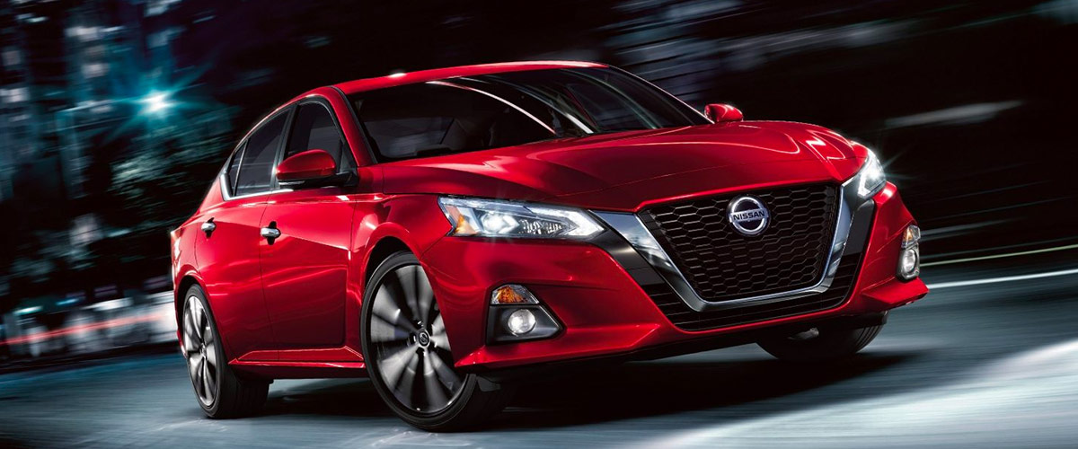 THE ALL-NEW 2019 NISSAN Altima Header