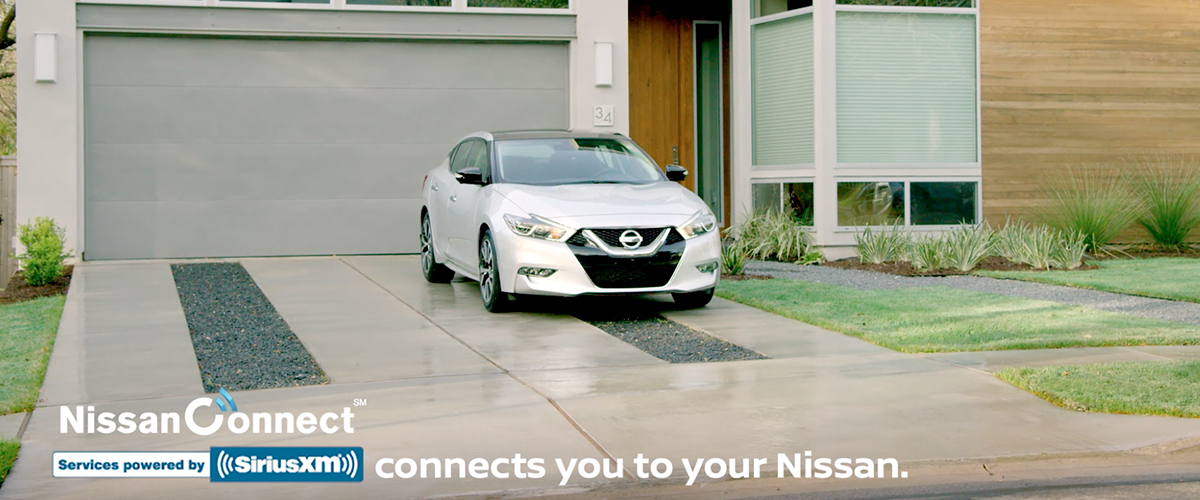 Nissan Connect header