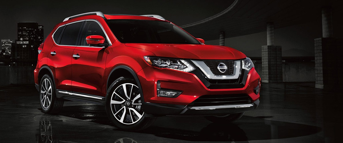 The 2019 Nissan Rogue. Header