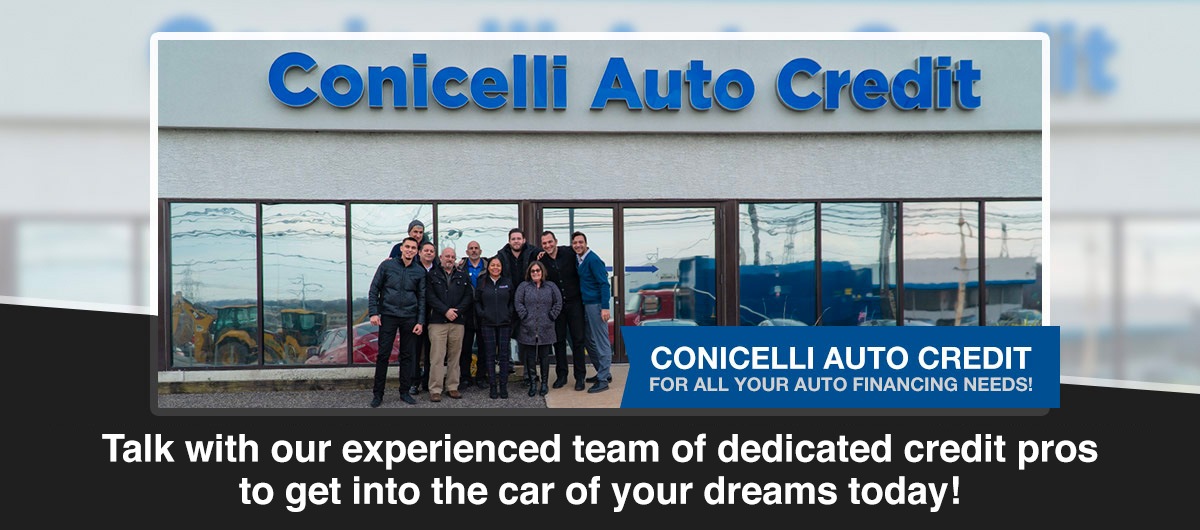 Let Conicelli Get You Approved! Header