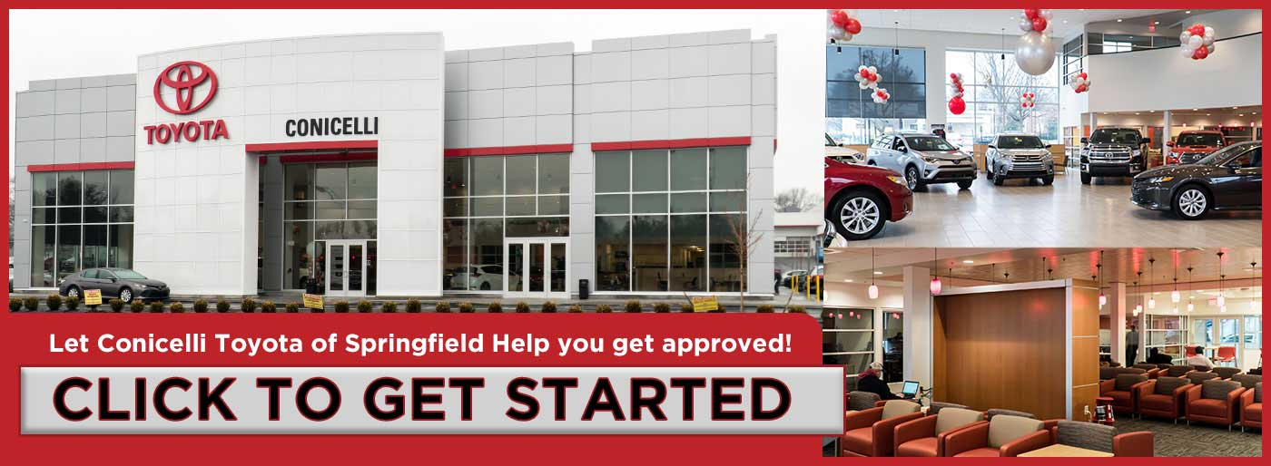 Let Conicelli Toyota of Springfield Help you get approved!