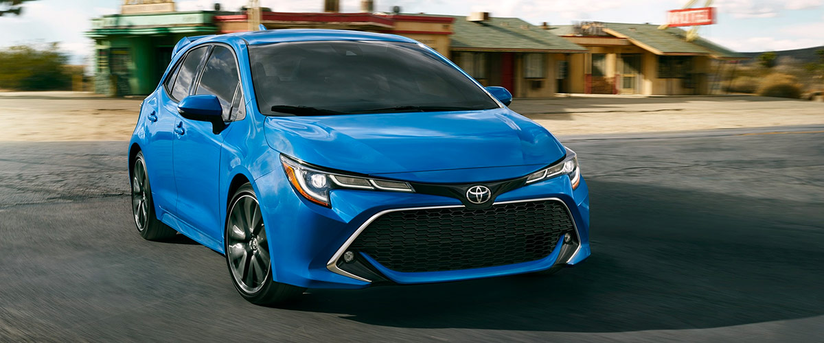 The 2019 Toyota Corolla Hatchback Header