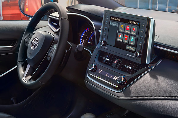 2019 Toyota Corolla Hatchback Interior & Technology