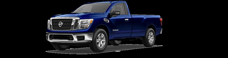 2018 Nissan Titan XL in Blue