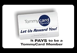 TommyCard Rewards