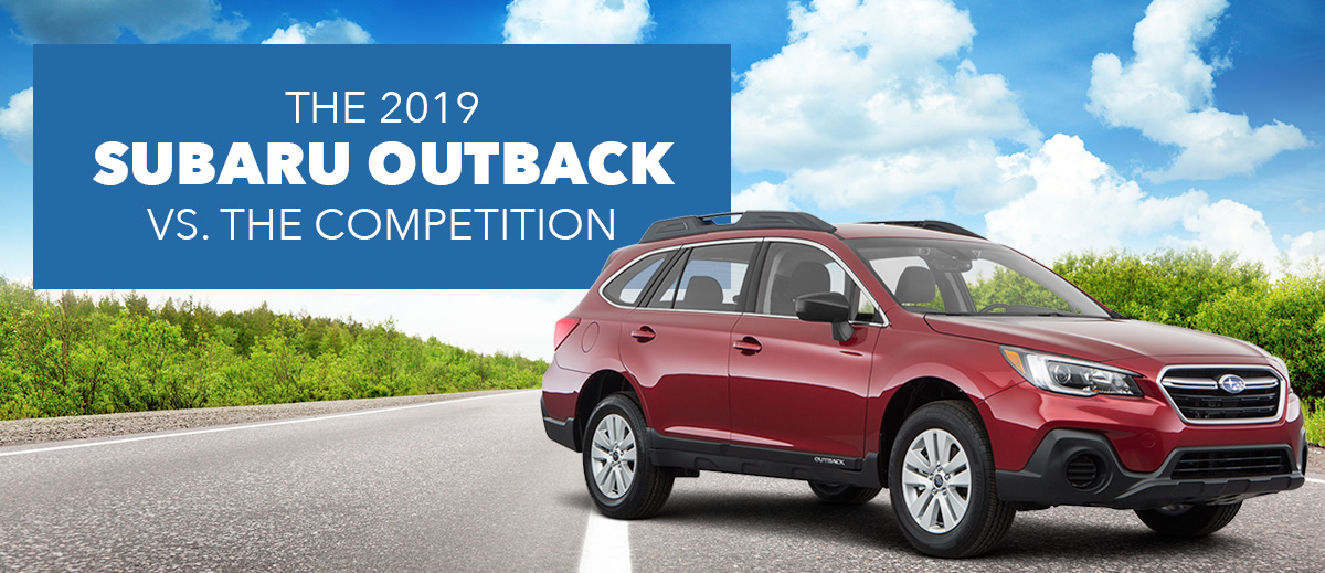 The Competitive Comparison of the 2018 Subaru Outback