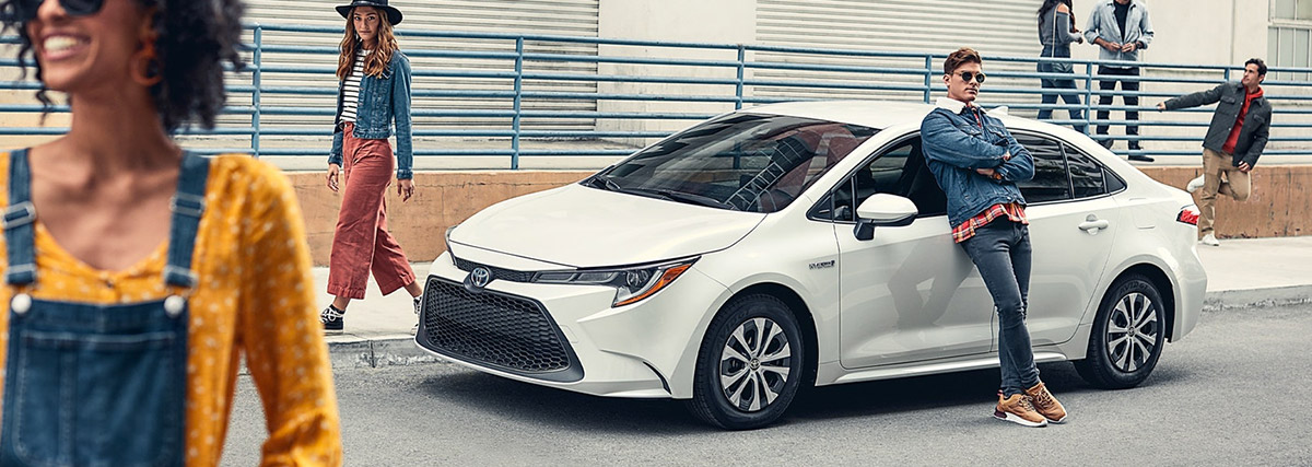2020 Toyota Corolla Footer