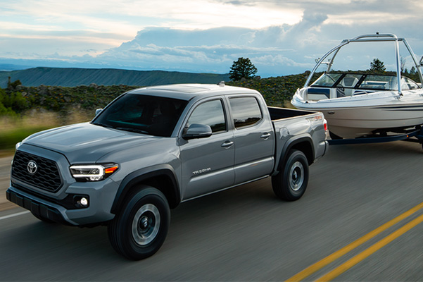 2020 Toyota Tacoma towing