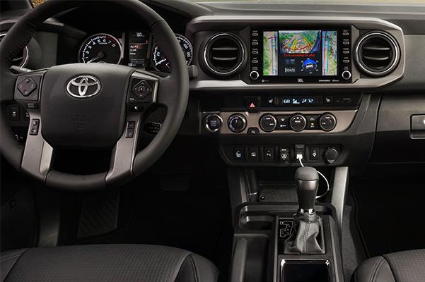 2020 Toyota Tacoma interior dash
