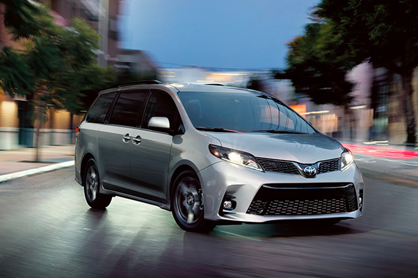 2020 Toyota Sienna performance