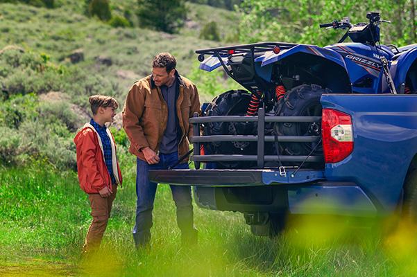 2020 Toyota Tundra tailgate