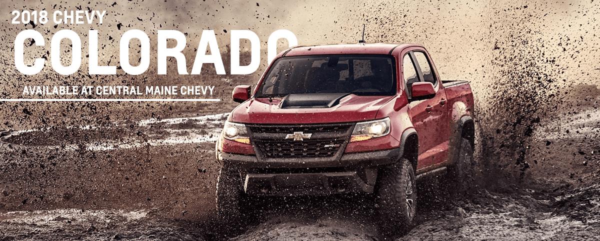 2018 Chevy Colorado through mud