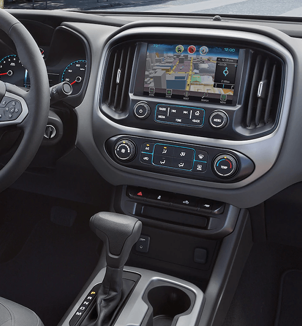 2018 Chevy Colorado tech dashboard