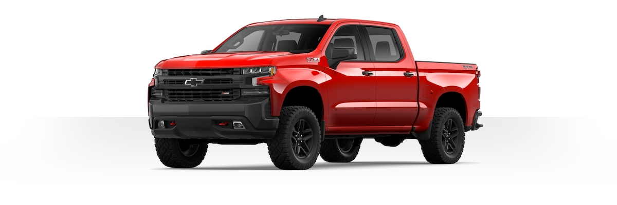 2019 Chevy Silverado cut