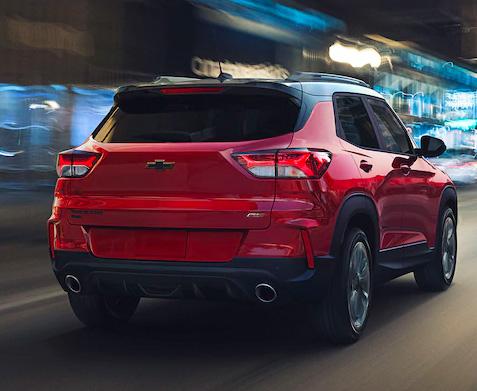 2021 Chevy Trailblazer exterior rear
