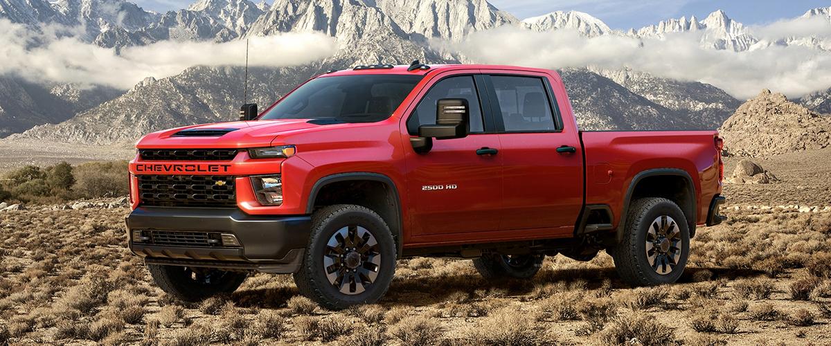 2020 Chevrolet 2500 header
