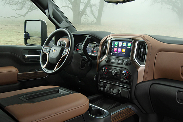 2015 Chevy Duramax Interior