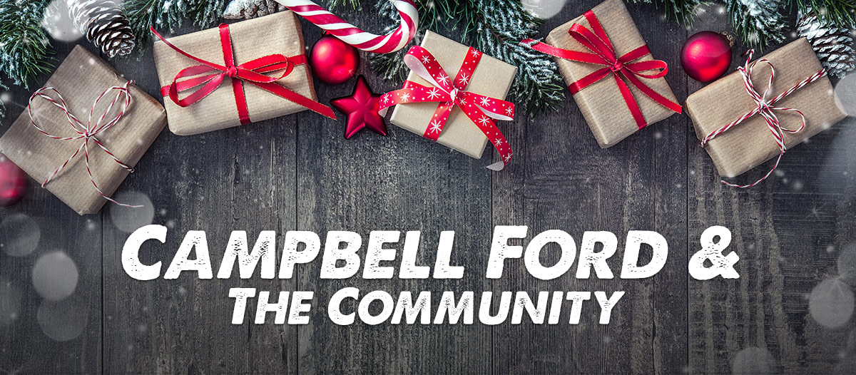 Campbell Ford & The Community header