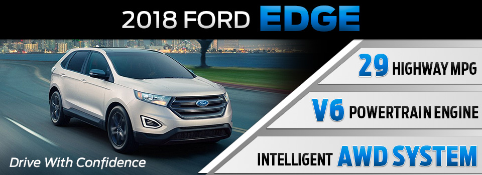 Discover The New  Ford Edge Suv Near South Bend In