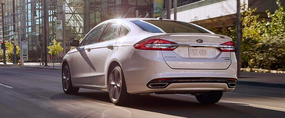 2018 Ford Fusion - Exterior - LED Taillamps
