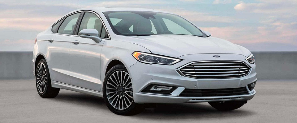 2018 Ford Fusion - Exterior - Oxford White