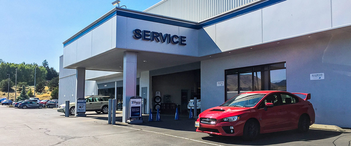 Why Service at Cascade Subaru header