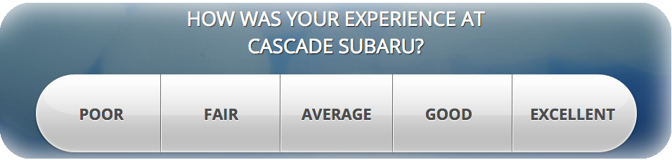 Why Buy From Cascade Subaru