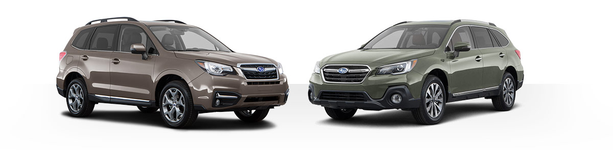 Subaru SUVs Vs. The Competition