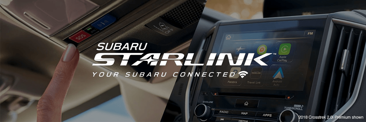 Subaru Starlink Your Subaru, Connected