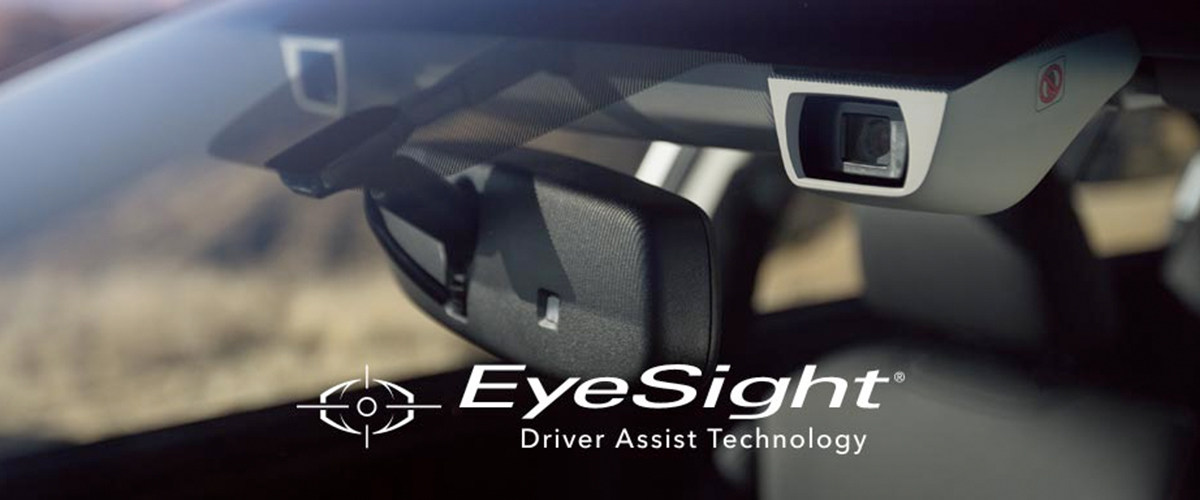 Subaru EyeSight® Technology header