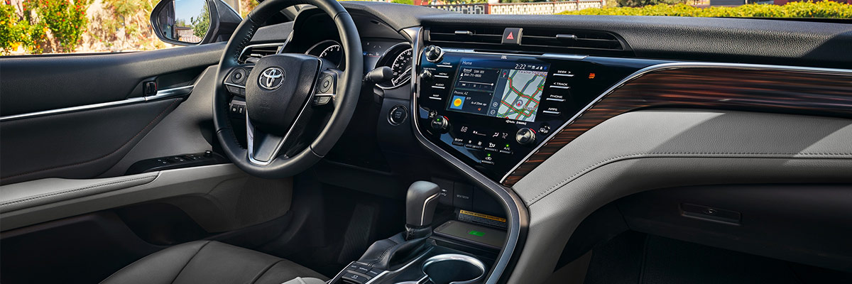 2019 Toyota Camry Interior Features & Technology