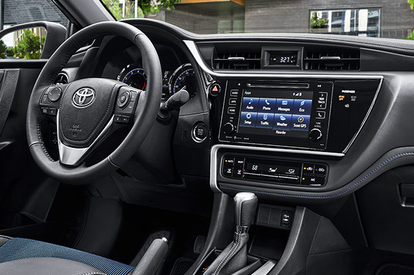 2019 Toyota Corolla Interior & Technology