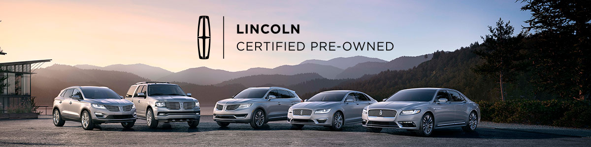 Certified Pre-Owned Lincoln header