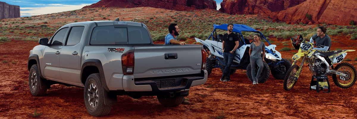 2018 Toyota Tacoma with off road group