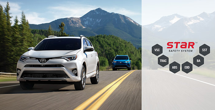 2018 Toyota RAV4 - Star Safety System