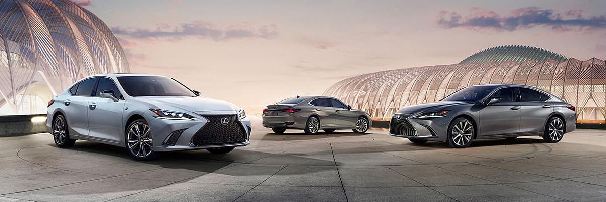 2020 Lexus ES 350 footer