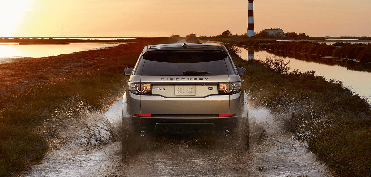 2018 Discovery Sport Rear Exterior