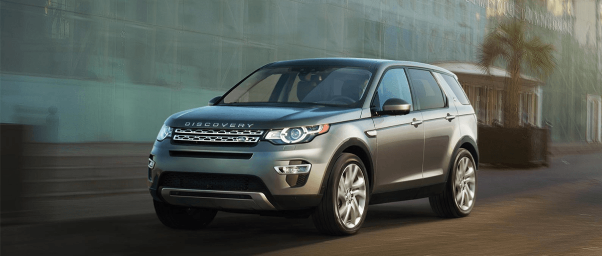 2018 Discovery Sport Exterior in Grey