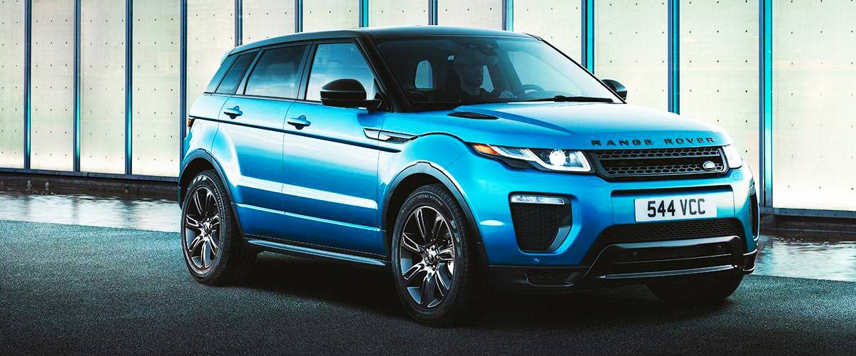 2018 Range Rover Evoque Header