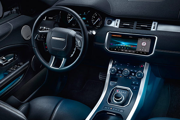 2018 Range Rover Evoque Interior Features