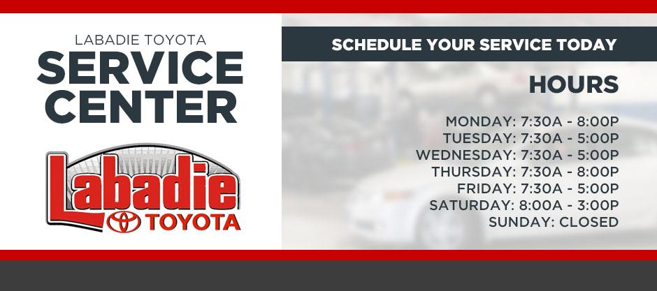 toyota service center schedule auto repairs in bay city mi. Black Bedroom Furniture Sets. Home Design Ideas