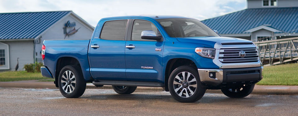 2018 Toyota Tundra - Exterior - Shown in Blue