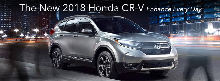Introducing The All-New 2018 Honda CR-V