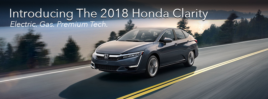 Introducing The All-New 2018 Honda Clarity