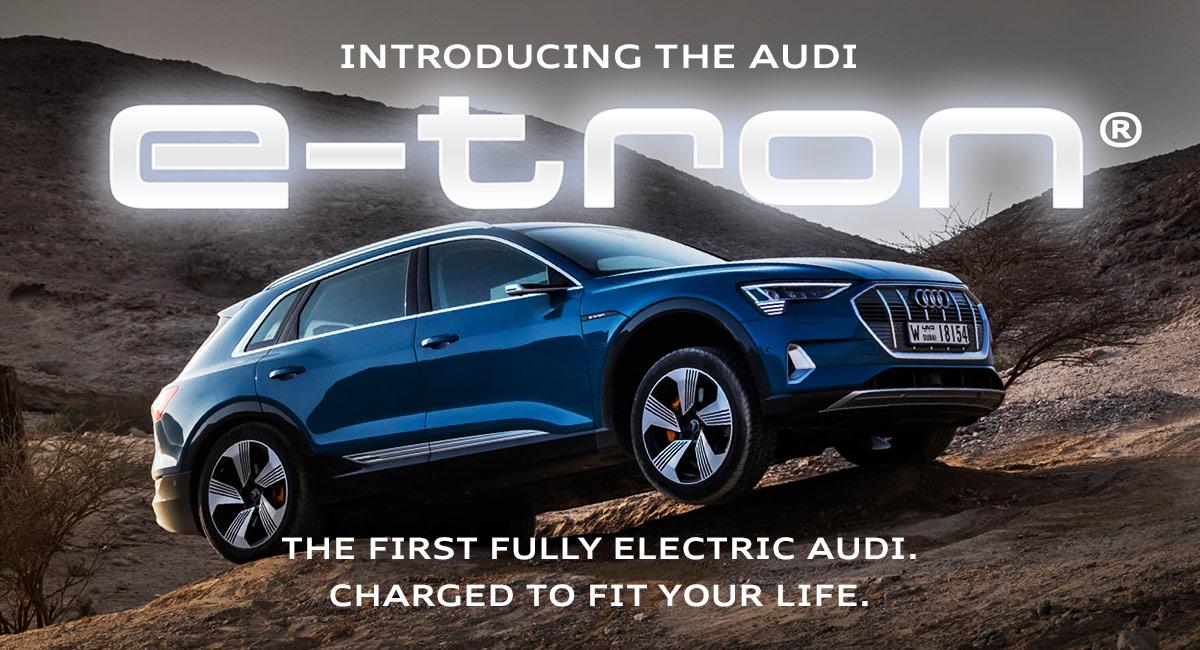 Audi Los Angeles >> New Audi Etron Available Near Los Angeles Ca Mckenna Audi