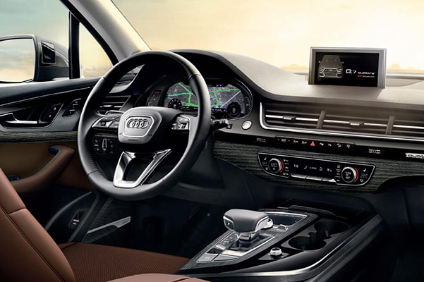 2019 Audi Q7 Interior, Dimensions & Technology