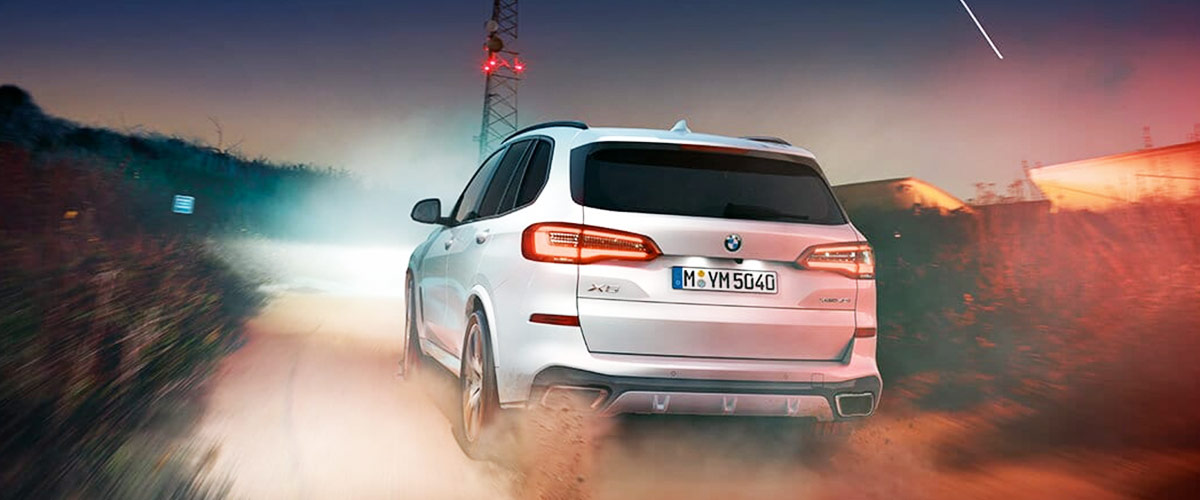 2019 BMW X5 Footer