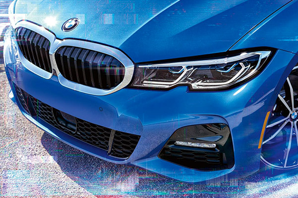 2019 BMW 3 Series performance front