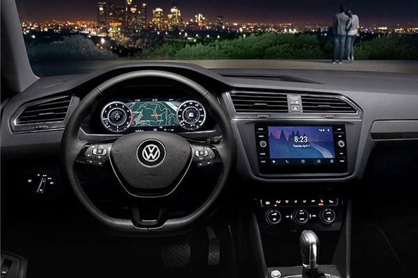 2019 VW Tiguan Interior Dashbaord