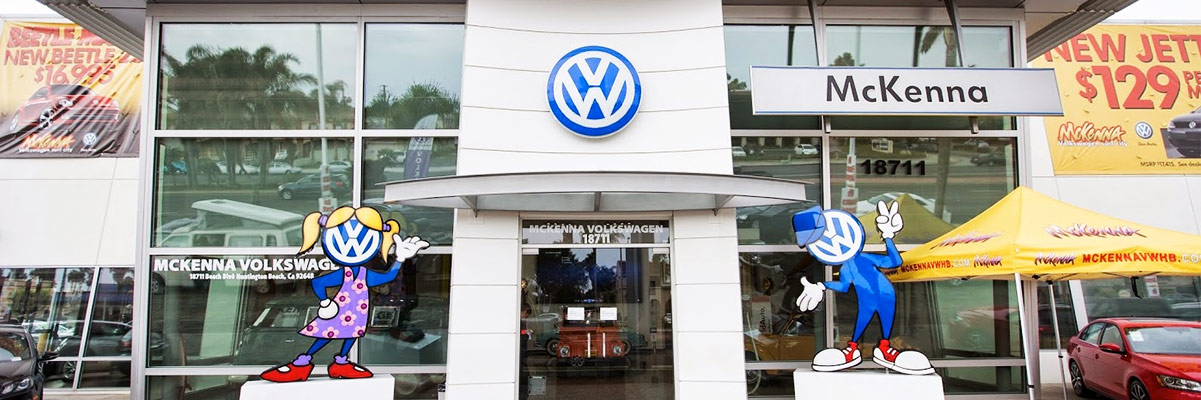 SoCal VW Dealers: Choose McKenna Volkswagen